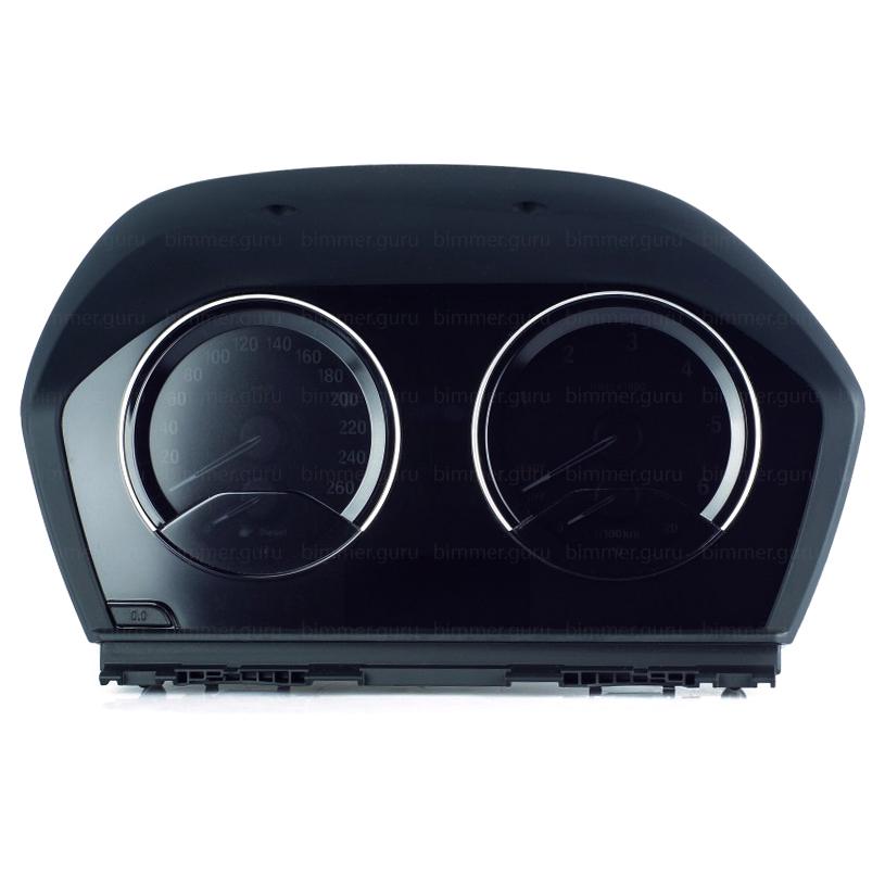 BMW digital cluster black (6WA) for 1, 2 series (F20-F22)