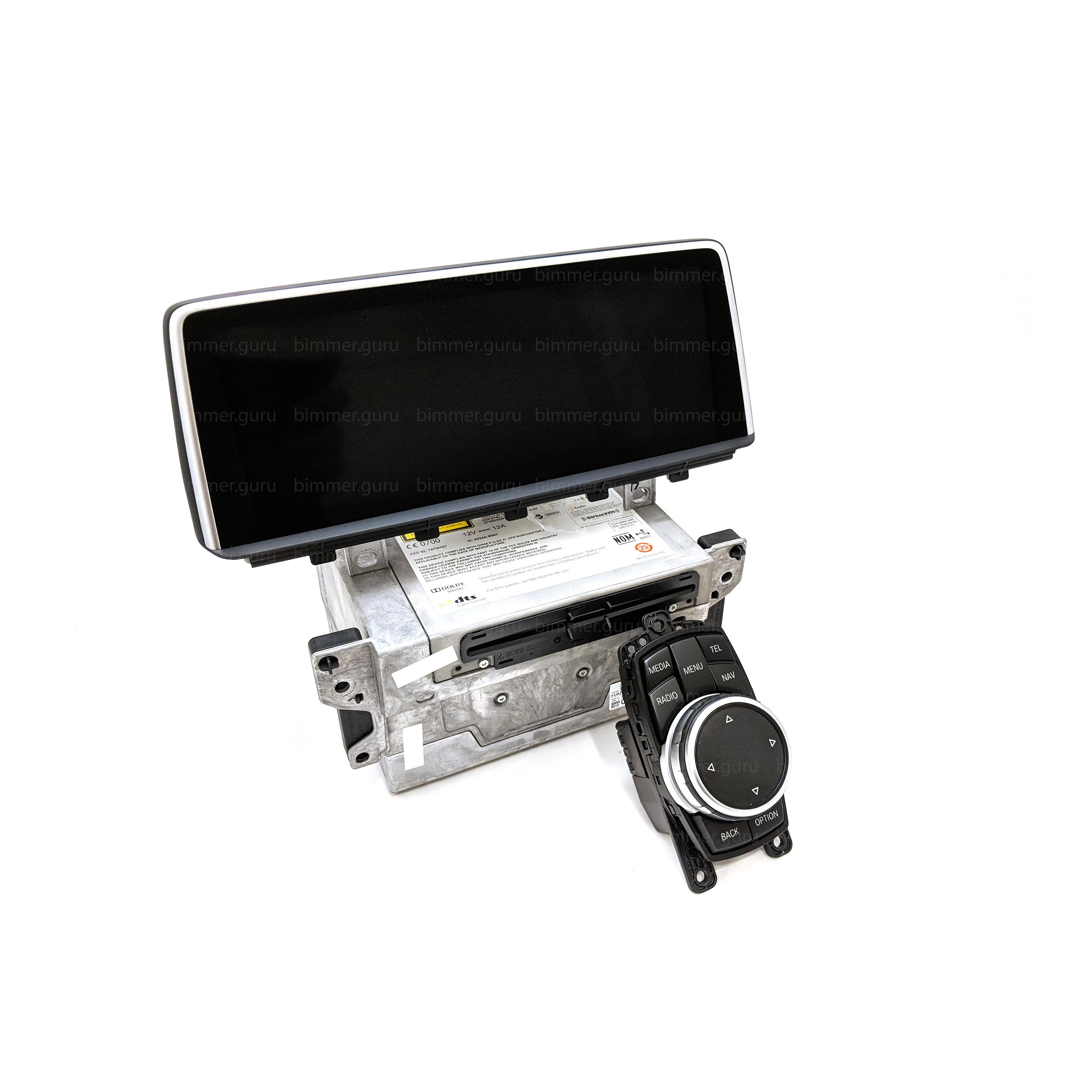 BMW NBT Professional Navigation + touch iDrive (X5, X6 series, F15, F16)
