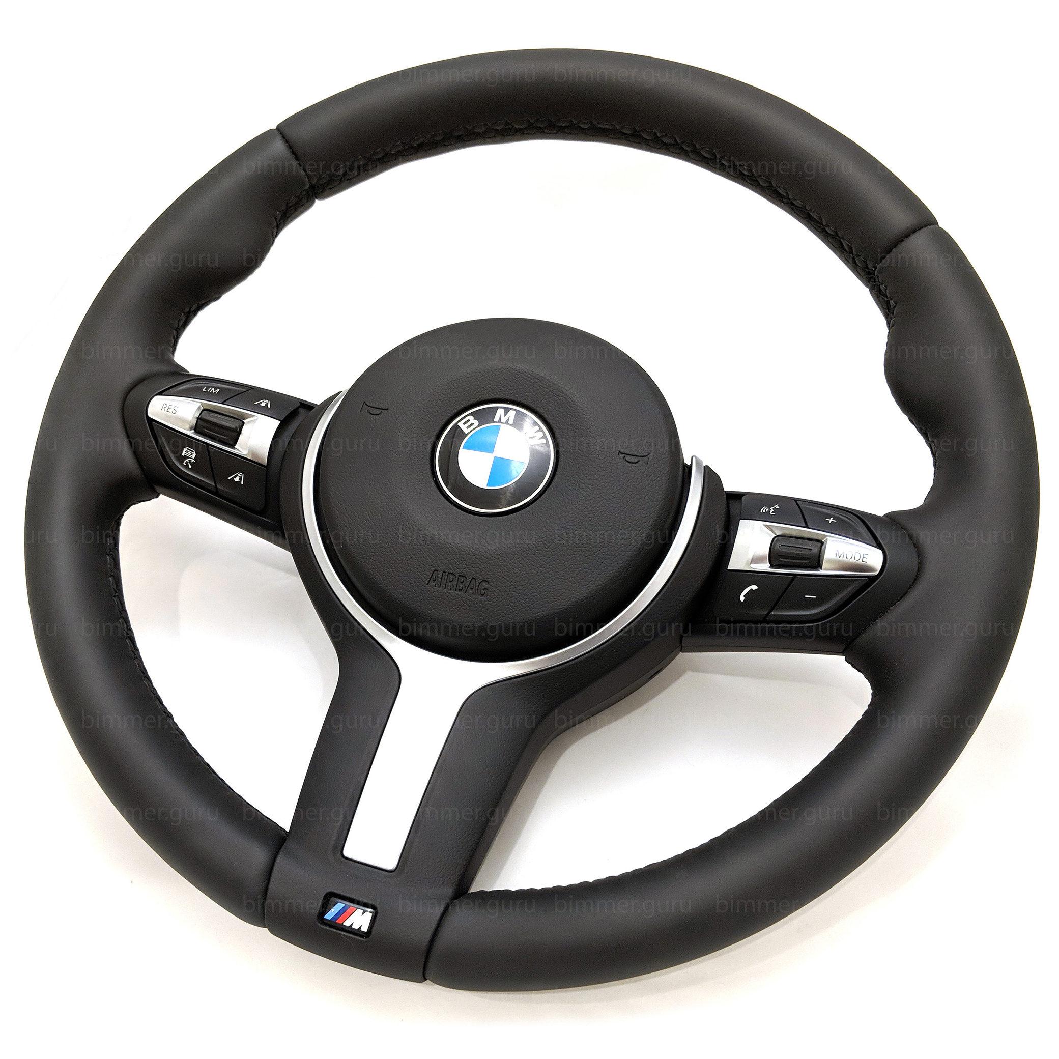 Bmw Steering Wheel M Sport Lci For 5 6 7 Series F01 F02 F06 F07 F10 F11 F12 F13 Without Paddles Bimmer Guru